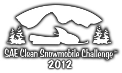 SAE Clean Snowmobile Challenge 2012