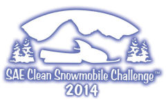 SAE Clean Snowmobile Challenge 2014